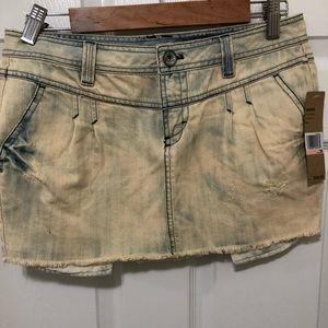DKNY Denim Mini Skirt
